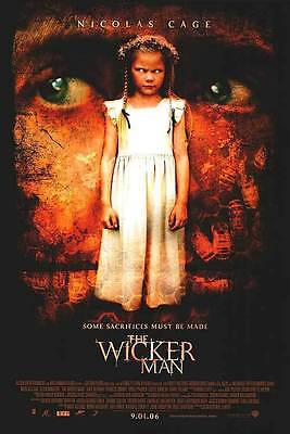 The Wicker Man Original Double-Sided 1 Sheet Rolled Movie Poster 27x40 NEW 2006