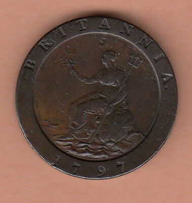 Great Britain 1797 2-Pence