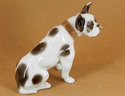 Rosenthal French Bulldog Figurine - Great Coloring Brown on White