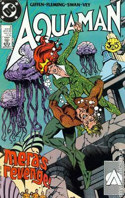 Aquaman (2nd Limited Series) #3 1989 VF Stock Image