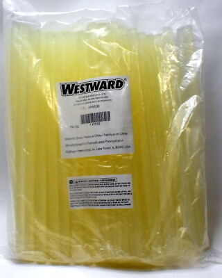 "WESTWARD 4YR50 Hot melt Glue Sticks 7/16"" diameter 10"" length pack of 100"