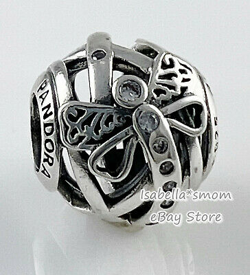 DREAMY DRAGONFLY Authentic PANDORA Silver SPRING 2018 Charm 797025CZ NEW w BOX