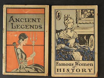 LOT: TWO 1920s LYDIA E. PINKHAM MEDICAL ADVERTISING BOOKLETS~LEGENDS~HISTORY
