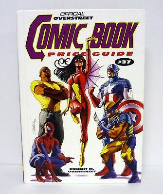 OVERSTREET COMIC BOOK PRICE GUIDE #37 Hardcover Book 37th Edition AVENGERS 2007