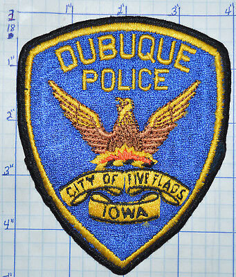 Iowa, Dubuque Police Dept Patch