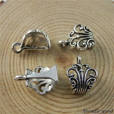 50370 Antique Silver Alloy Sun And Cloud Pendants Charms Crafts Findings 40pcs