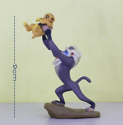 Lion King 9cm Figure RAFIKI & BABY SIMBA