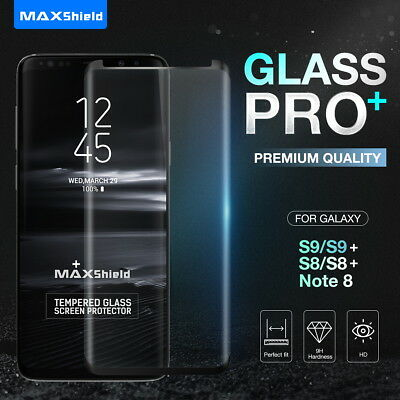 For Galaxy S9 S9 Plus S8 S8+ Note 8 3D Screen Protector Tempere Full Cover Glass