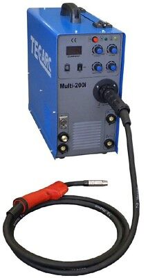 Tec Arc Multi 200i MIG/ TIG/ MMA Welder With HF TIG - 0% Finance Available