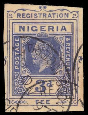"NIGERIA RP2 (SG RP2) - King George V ""Registered Envelope"" (pa43201)"