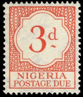 "NIGERIA J3 (SG D3) - Numeral of Value ""Postage Due"" (pf75071)"