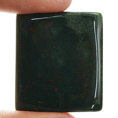 Pendant Size Aaa 37.55 Cts Natural Rich Blood Green Jasper Untreated Gemstone