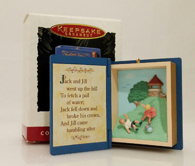 Hallmark Series Ornament 1995 Mother Goose #3 - Jack and Jill - #QX5099