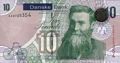 Nordirland / Northern Ireland, Danske Bank 10 Pounds 2013 Pick 212 (1)