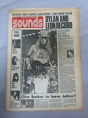 SOUNDS 12th June 1971 ~ Free ~ Rory Gallagher ~ Greg Lake!