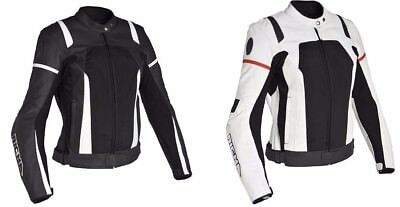 Richa Athena Black and white Motorcycle Motorbike Ladies Touring Jacket -Was£299