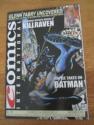 Comics International Magazine 149-Batman-Jim Lee-Killraven