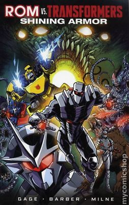 ROM vs. Transformers Shining Armor TPB (IDW) #1-1ST 2018 NM Stock Image