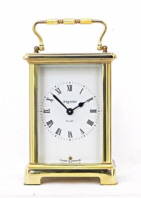 Bayard Duverdrey & Bloquel French Carriage Clock, Fully Working, 7 Jewels