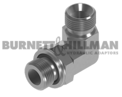 Burnett & Hillman BSP Male x BSP male 90° Positional Forged Elbow Adaptor
