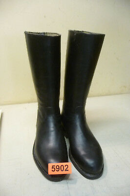 Nr. 5902.  Alte Militärstiefel Stiefel    Old Military Leather  Boots