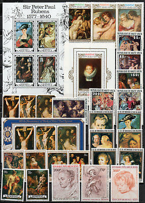 Peter Paul Rubens different editions, MNH (1591