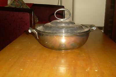 Vintage/Antique Style Tureen / Lidded Pot 'Viking Silver Plate' -Made in Canada