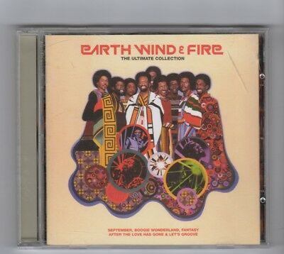 (HW595) Earth Wind & Fire, The Ultimate Collection - 1999 CD
