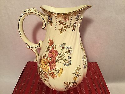 Antique French Majolica Creamer Pitcher c.1877-1900, fm556  GIFT QUALITY!!