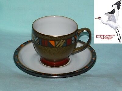 Denby Pottery Marrakesh Coffee Tea Cup \u0026 Saucer : discontinued denby tableware - pezcame.com