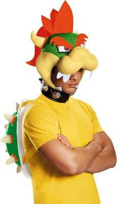Licensed Nintendo Super Mario Brothers Adult Men's Bowser Costume Kit Accessory