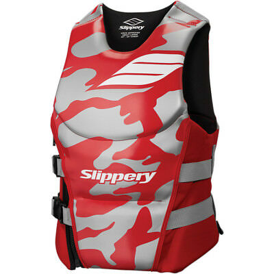 Slippery Array Side Entry Neo Vest Red