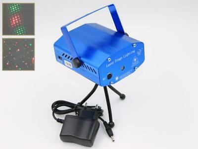 projector laser adjustable 2 effects of light Christmas discotheque dj ktv club