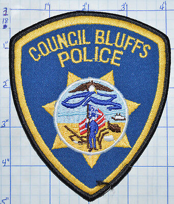 Iowa, Council Bluffs Police Dept Patch