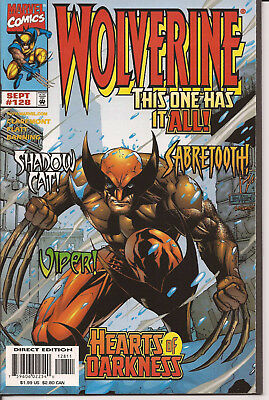 WOLVERINE # 128 * STEPHEN PLATT art * NEAR MINT