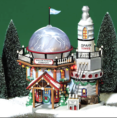 Dept 56 North Pole Village - Polar Power Company 56749 Ltd Ed 2003 Retired New
