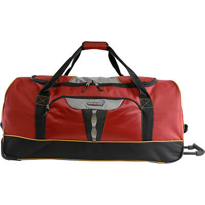 """Pacific Coast Extra Large 35"""" Rolling Duffel Bag 4 Colors Travel Duffel NEW"""