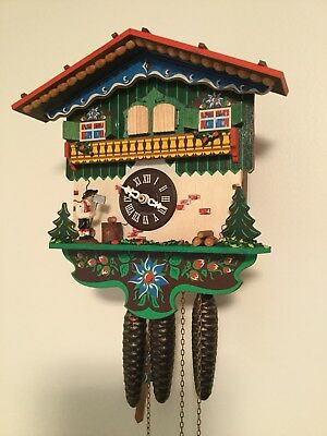 Cuckoo Clock Musical With Animation, Work Perfect, Great Condition