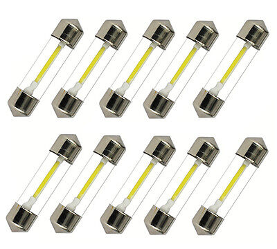 10x 36mm 37mm LED Soffitte COB SMD Canbus Innenraumbeleuchtung 12V Deutsche Post