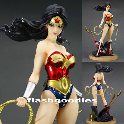 DC Comics Bishoujo Statue WONDER WOMAN PVC Figure Kotobukiya Authentic Brand NEW