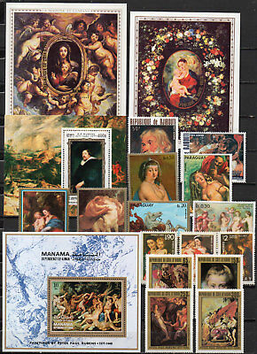 Peter Paul Rubens different editions, MNH (1602