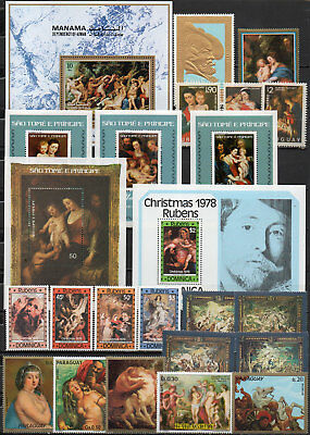 Peter Paul Rubens different editions, MNH (1604
