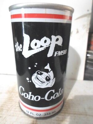 The Loop Coho - Cola Straight Sided Steel Soda Can / Pop Can