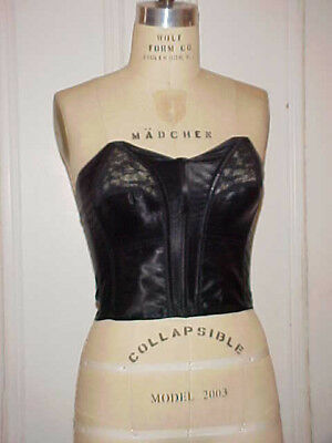 VTG 1950s ERA BULLET BRA / GIRDLE, STAPLESS WIRE APROX. 34B, SEXY ROCKABILLY