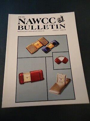 NAWCC Bulletin Guide June 1994 No. 290 Hermetic watches