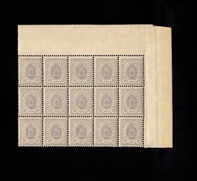 3273          Luxembourg large piece classic MNH