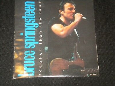 "Bruce Springsteen - Tougher Than The Rest - Vinyl Record 7"" Single - 1987"