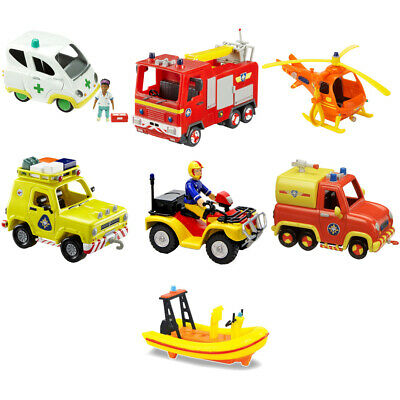 Fireman Sam Vehicle, CHOICE OF VEHICLE, ONE SUPPLIED, NEW