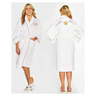 HARRY POTTER Golden Snitch Ladies Luxurious Soft Dressing Gown ...