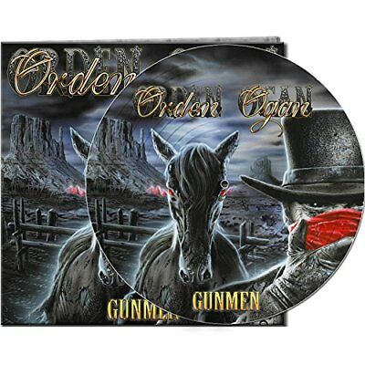 ORDEN OGAN Gunmen LP PICTURE VINYL 2017 LTD.500